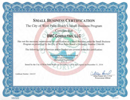 City of West Palm Beach Small Business